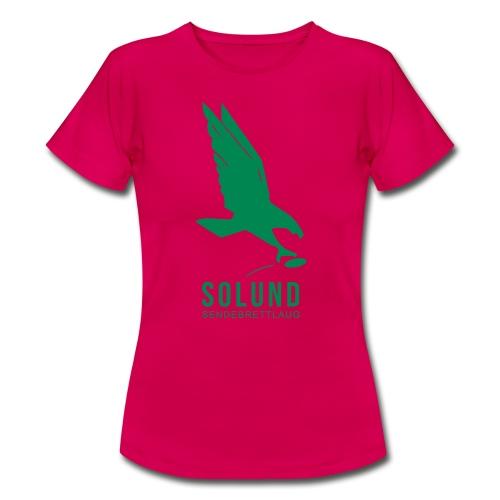 T-skjorte grønn - T-skjorte for kvinner