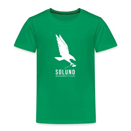 T-skjorte (unisex) grønn barn - Premium T-skjorte for barn