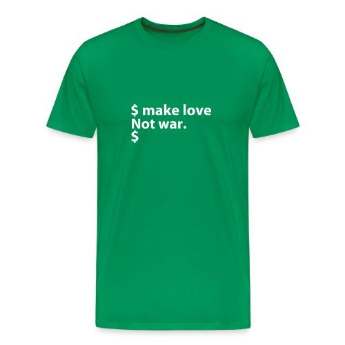 FreeBSD - $Make love (multicolor) - Men's Premium T-Shirt