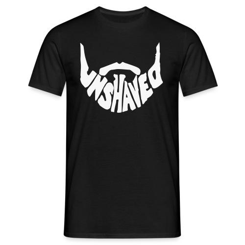 Männer T-Shirt - Schwarz mit speziellem Glitzerdruck