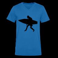 T-Shirts ~ Men's V-Neck T-Shirt ~ Surf Orlok V Men