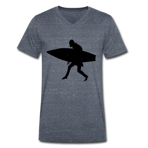 Surf Orlok V Men - Men's Organic V-Neck T-Shirt by Stanley & Stella