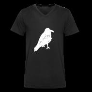 T-Shirts ~ Men's V-Neck T-Shirt ~ Raven Invert V Men