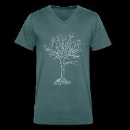 T-Shirts ~ Men's V-Neck T-Shirt ~ Dead Tree Invert V Men