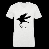 T-Shirts ~ Men's V-Neck T-Shirt ~ Raven Chain V Men
