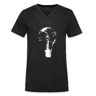 T-Shirts ~ Men's V-Neck T-Shirt ~ Bulb V Men