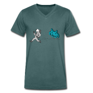 T-Shirts ~ Men's V-Neck T-Shirt ~ Invasion V Men