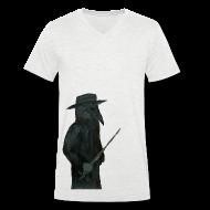 T-Shirts ~ Men's V-Neck T-Shirt ~ Plaguedoctor Venice V Men