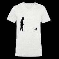 T-Shirts ~ Men's V-Neck T-Shirt ~ Poe Pixel V Men
