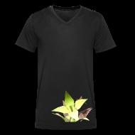 T-Shirts ~ Men's V-Neck T-Shirt ~ Iris V Men