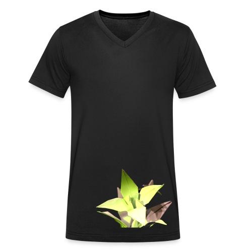 Iris V Men - Men's Organic V-Neck T-Shirt by Stanley & Stella