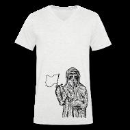 T-Shirts ~ Men's V-Neck T-Shirt ~ Plaguedoctor Flag V Men