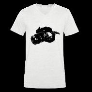 T-Shirts ~ Men's V-Neck T-Shirt ~ Cam V Men