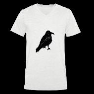 T-Shirts ~ Men's V-Neck T-Shirt ~ Raven V Men