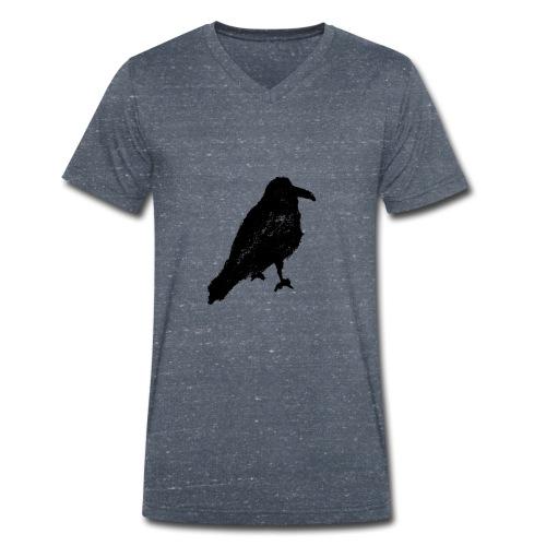 Raven V Men - Men's Organic V-Neck T-Shirt by Stanley & Stella