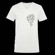 T-Shirts ~ Men's V-Neck T-Shirt ~ Balloon V Men