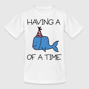 Whale of a Time - Kids Tee - Kids' T-Shirt
