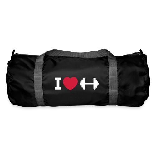 I love Fitness – Bodybuilding – Training – Tasche (dh) - Sporttasche