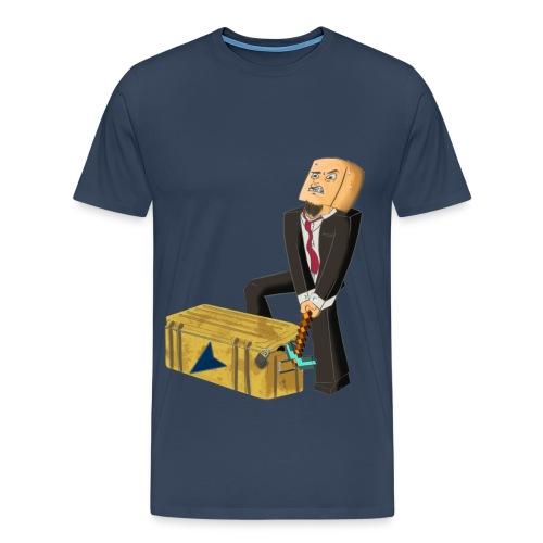 Kasseåpning - Herre - Premium T-skjorte for menn