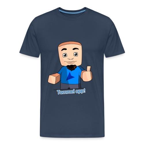 Tommel opp! Herre (blå) - Premium T-skjorte for menn