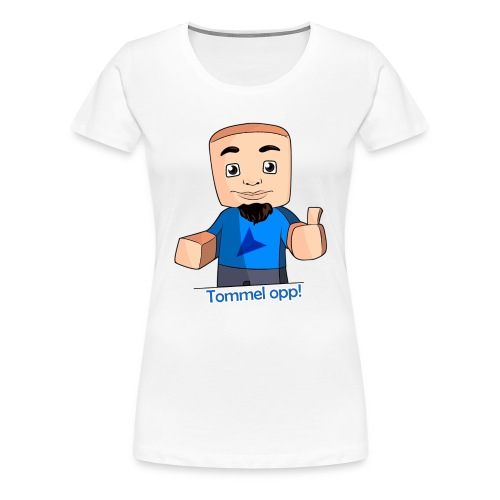 Tommel opp! Kvinner - Premium T-skjorte for kvinner