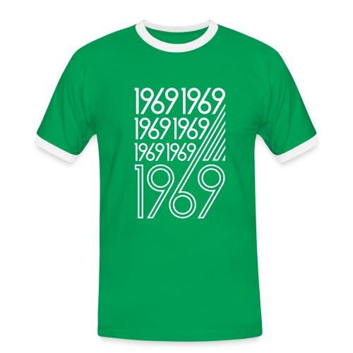 1969 - Männer Kontrast-T-Shirt