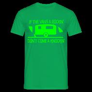 T-Shirts ~ Men's T-Shirt ~ If the Vans Rockin - Don't come knockin
