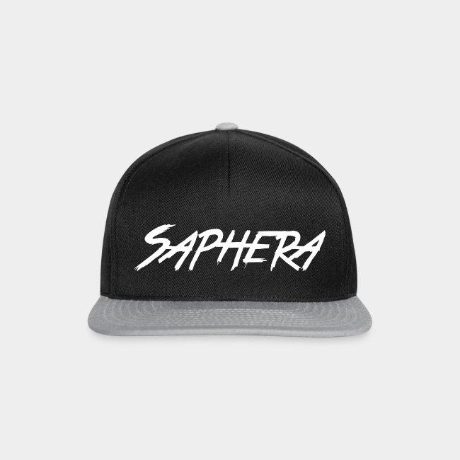Saphera Snapback Text - Black / Grey