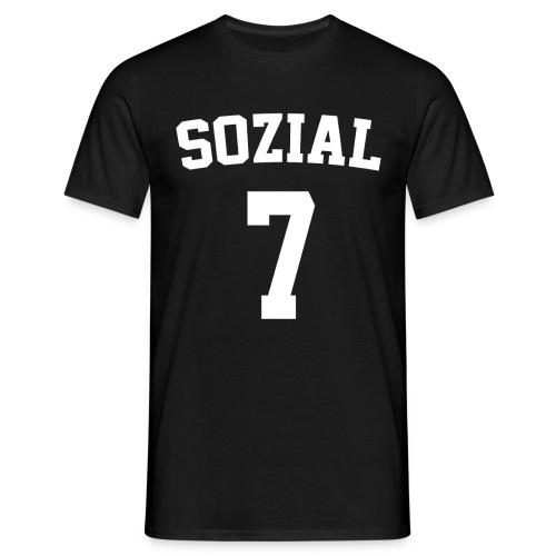 soziaL Crew Shirt - Männer T-Shirt