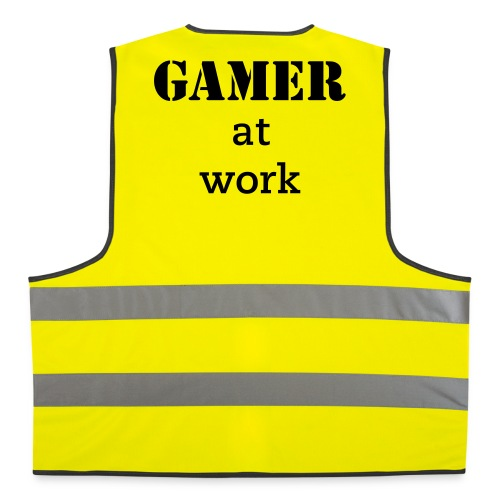 Gamer at work Hi-viz Jacket - Reflective Vest