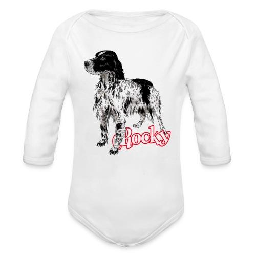 Rocky - Body ecologico per neonato a manica lunga