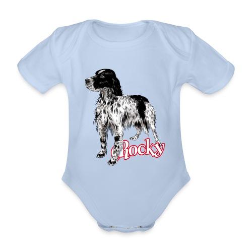 Rocky - Body ecologico per neonato a manica corta