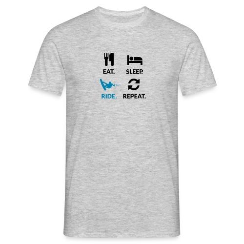 Eat Sleep Wake Repeat - Men's T-Shirt