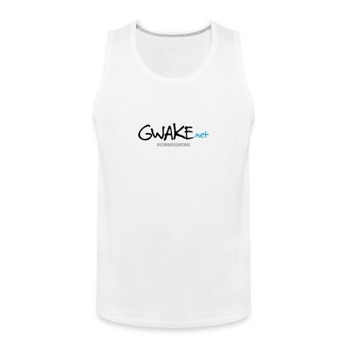 Gwake Man Tank top - Men's Premium Tank Top
