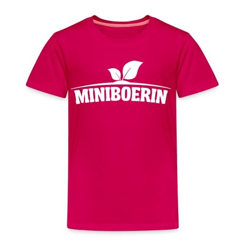 Miniboerin kleuter - Kinderen Premium T-shirt