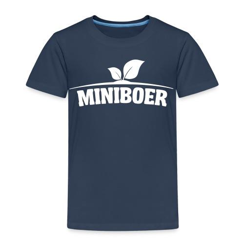 Miniboer kleuter - Kinderen Premium T-shirt