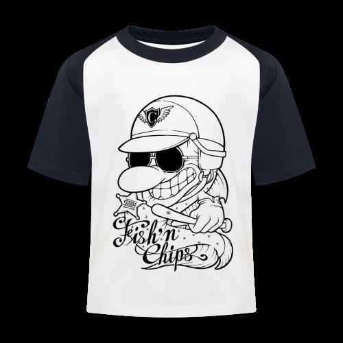 T-shirt baseball Enfant - Hommage au téléfilm Chips