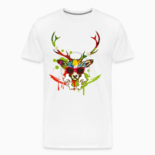 Relax Deer Men Shirt - T-shirt Premium Homme