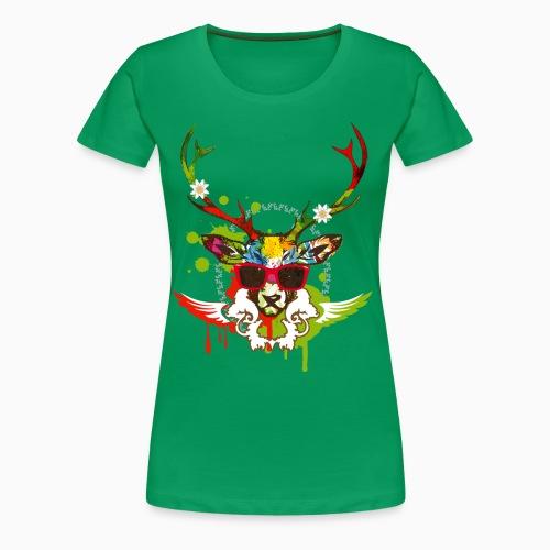 Relax Deer Ladies Shirt  - T-shirt Premium Femme