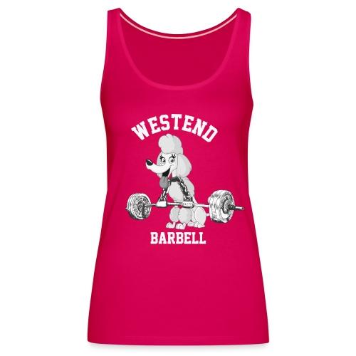 Westend barbell naisten tankkitoppi - Naisten premium hihaton toppi