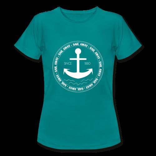 Sail Away - T-skjorte for kvinner