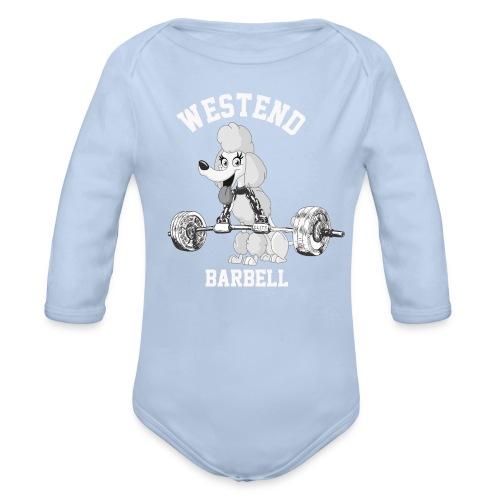 Pitkähihainen vauvan body, Westend barbell - Vauvan pitkähihainen luomu-body