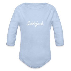 Schlafeule - Baby Bio-Langarm-Body