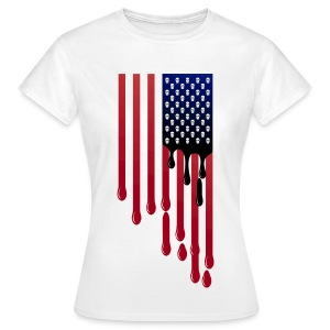 No blood for oil (female) - Women's T-Shirt