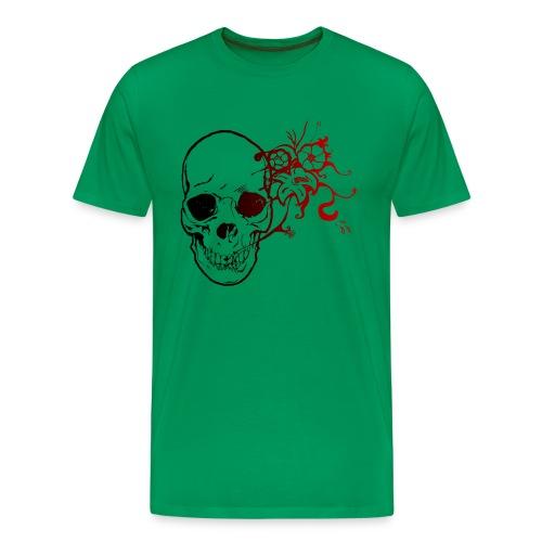 T-shirt Premium Homme - zexman,zex,tete,t,skull,shirt,rose,rock,pierre,mort,metal,man,lol,head,girl,geek,gamme,game,fleur,fabien,de,crane,art
