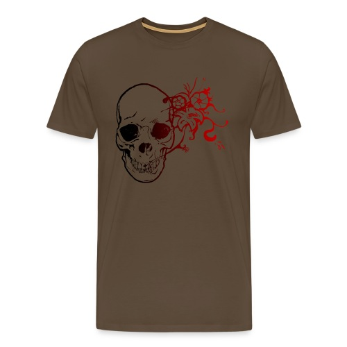 T-shirt Premium Homme - zexman,zex,tete,t,skull,shirt,rose,rock,pierre,mort,metal,man,lol,head,girl,geek,gamme,game,fleur,fabien,de,crane,art