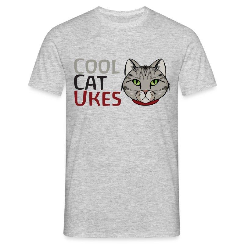 CoolCatUkes logo - Men's T-Shirt