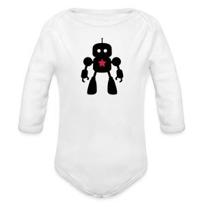 I Robot - Star Baby Bodys - Baby Bio-Langarm-Body