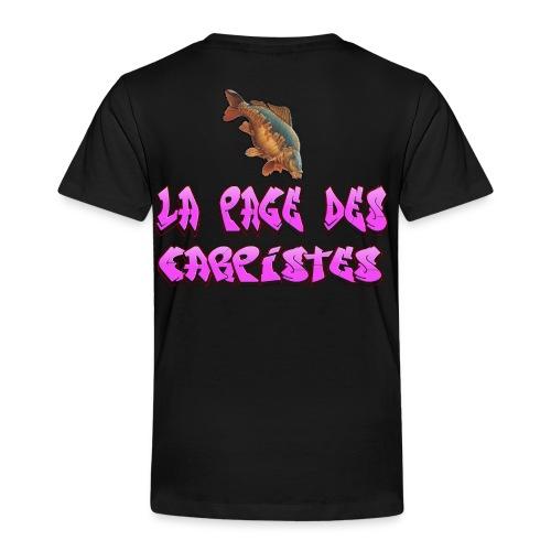 t-shirt enfant 8 ans  la page des carpistes  - T-shirt Premium Enfant