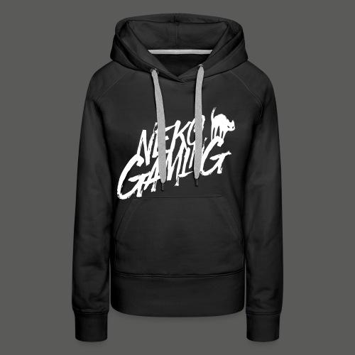 Neko Gaming weiß - Frauen Premium Hoodie
